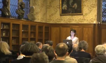 Clare at the Royal Institute of Philosophy