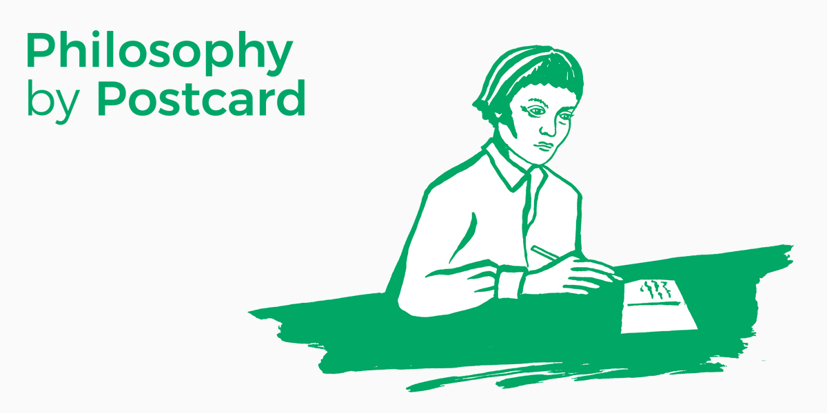 Philosophy by Postcard